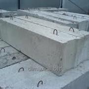 Блоки фундаментные 24.3.6 фото
