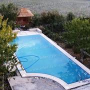 Размещение бассейна на участке, проектирование и строительство бассейнов. фото