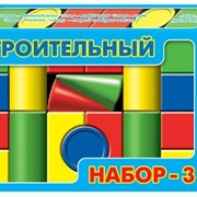 Строительный набор №3 в коробке фото