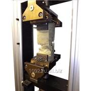 Захваты и приспособления для испытания теплоизоляционных материалов на растяжение - сжатие - сдвиг - срез фото