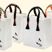 Пакеты бумажные с ручками, упаковка для магазинов одежды, Киев