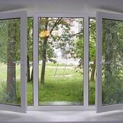 Окна, двери металлопластиковые фото