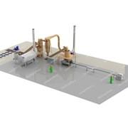 Линия производства топливных брикетов ЛПБ-400 фото