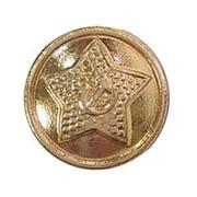 Пуговица диам. 14мм Советская Армия звезда повседневная металл фото