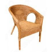 Кресло плетеное из натурального ротанга фото