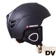 Горнолыжный шлем с системой HIFI мод. FILL H-05 BLACK MAT фото
