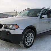 Автомобиль BMW X3 серебристый металлик фото