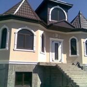 Фасадный декор из пенополистирола фото