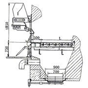 Топка полумеханическая ЗП- РПК- 1- 1100 2135 фото