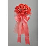 Букет для невесты №14, красный фото