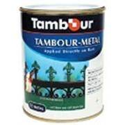 Эмаль Тамбур - металл Матовая (601 - светло-серый) фото