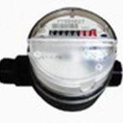 Квартирный одноструйный счётчик воды фото
