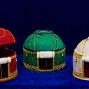 Подарки и сувениры, Юрта шкатулка. фото