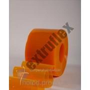 Лента ПВХ 50м REF.627 Желтая антимоскитная прозрачная 200х2 фото