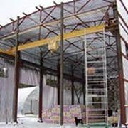 Монтаж ограждающих конструкций, фото