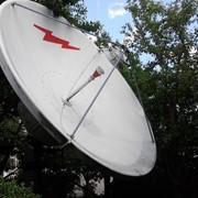 Спутниковая антенна, 3.7 метра, приемопередающая фото