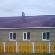 Дома коттеджи жилые из пенобетона фото