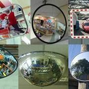 Зеркала обзорные сферические фото