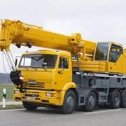 Заказ автокрана 25 тонн.  фото