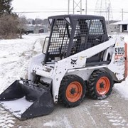 Аренда мини погрузчика уборка снега фото
