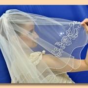"Свадебная фата ""Фиалка мечты"" фото"