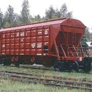 Вагоны грузовые железнодорожные хопперы 19–3054 фото
