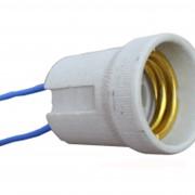 Патрон для лампы керамический Е27 фото