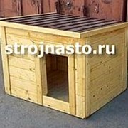 Будка Собачья №9 (Размер 1-0.8-0.8 м) Утеплённая фото
