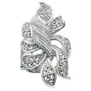 Кольцо из серебра (К 578) фото