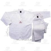 Униформа для тхэквондо белая, рост 130 фото