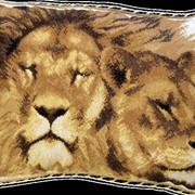 Вышивка набор Львы, набор для вышивки фото