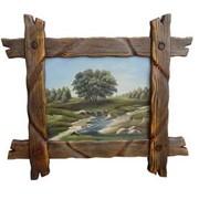 Деревянная рамка фото