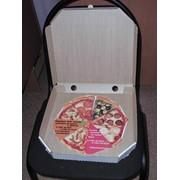 Упаковка картонная для пиццы фото