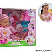 Кукла пупс функциональная доча с набором доктора 21-3712 фото