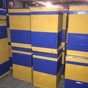 Ульи многокорпусные на 10 и 12 рамок с рамками. фото