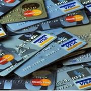 Банковские карты VISA International. фото