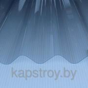 Профилированный лист Salux шифер прозрачный 146/48 1,1*1090*2000мм фото