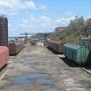 Подача вагонов на фронты погрузки и выгрузки фото