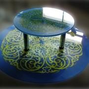 Стеклянные столы в Астане фото