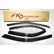Дефлектор окон черный по 3 компл в упаковке Kyoung Dong, кросс_номер KN00017010 фото