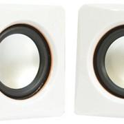 Колонки T D 2.0 TD-030 White (2x2.5W, USB), опт фото