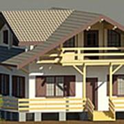 Быстровозводимый дом из клееного бруса.Утепленный. фото
