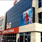"""LED Видеоэкран на фасаде ТД """"ЦУМ"""" фото"""