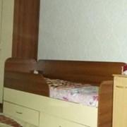 Гарнитур детский, кровать со шкафом фото