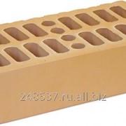 Кирпич облицовочный солома одинарный гладкий М-150 Кострома фото