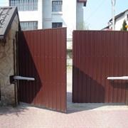 Ворота від виробника фото