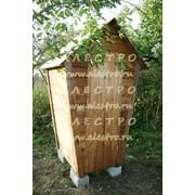 Туалет дачный Теремок, на яму или на ведро (по выбору заказчика) фото