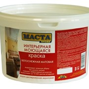 Краска акриловая Ореол для стен и потолков 3,0кг (5788) (г.Ростов) фото