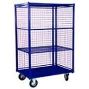 Сетчатые шкафы и контейнеры : шсм. шкаф сетчатый с металличе.