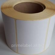 Термотрансферные этикетки 58х40, 700 этикеток в роле фото
